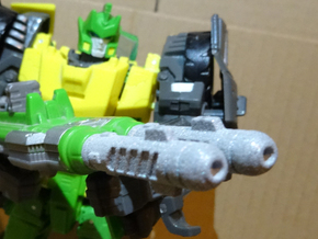 Generations Springer - Upgraded Weapon Barrels in Polished Metallic Plastic