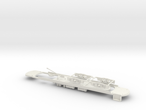 #87-2202 - without pilot - Unterbody for #87-1202 in White Natural Versatile Plastic