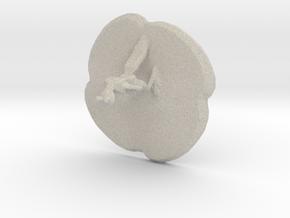 Squirmar in Natural Sandstone