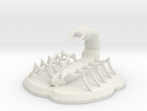 Fearwig in White Natural Versatile Plastic