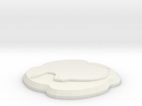 Orochi in White Natural Versatile Plastic