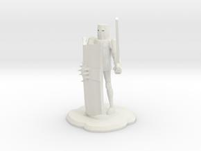 Crusader in White Natural Versatile Plastic