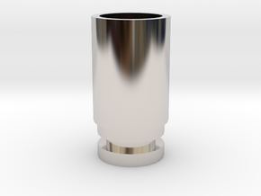 WIDE BORE DRIP TIP (NEEDS O-RING) in Platinum