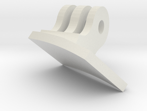 Bern Helmet GoPro Visor Mount in White Natural Versatile Plastic