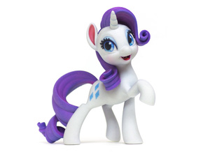 Rarity My Little Pony (6in Tall) in Full Color Sandstone