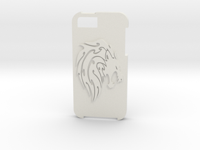 IPhone5 case - Lion in White Strong & Flexible