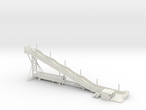 kompakte Rutsche - 1:220 / 1:160 in White Strong & Flexible: 1:160 - N