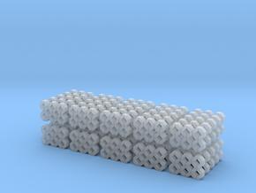 H0 1:87 Rasengittersteine (50 Stk.) in Smooth Fine Detail Plastic