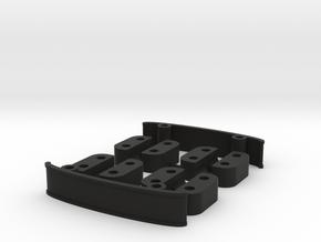 ZMR250 Spacers Kit V1 in Black Natural Versatile Plastic