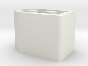 Xt 60 Battery Cover in White Natural Versatile Plastic