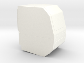 APU - Power Unit in White Strong & Flexible Polished