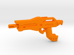 Scout Rifle in Orange Processed Versatile Plastic