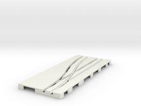 P-65stp-road-left-point-145r-100-pl-1b in White Natural Versatile Plastic
