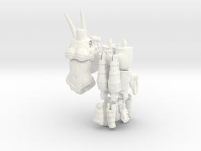 FB01-Preset-10s  6inch in White Processed Versatile Plastic