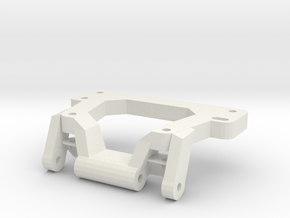 Tlt-1 Low Profile Axle Truss in White Natural Versatile Plastic