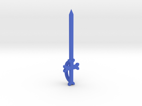 The Sword of Sunshine in Blue Processed Versatile Plastic