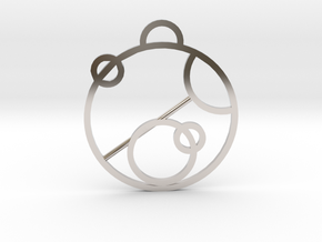 Love In Gallifreyan in Platinum