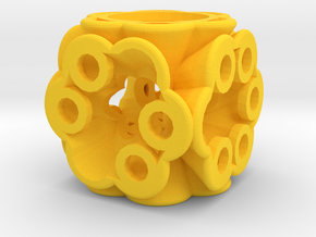 Dice148 in Yellow Processed Versatile Plastic