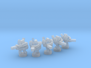 UWN - Infanty Squad [Minigun] in Smooth Fine Detail Plastic
