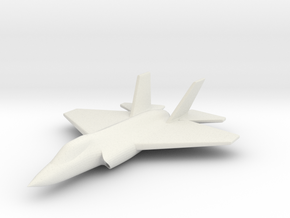 1/285 (6mm) F-35C Carrier Version in White Natural Versatile Plastic