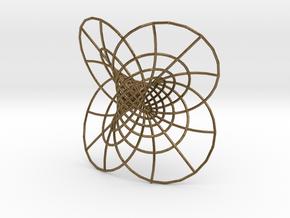 Hopf Fibration in Raw Bronze