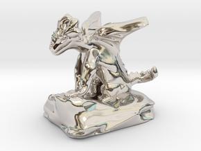 Pseudodragon Companion for Ranger or Warlock in Platinum