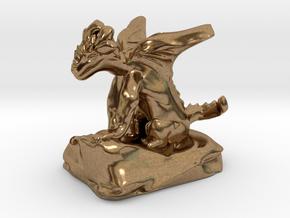Pseudodragon Companion for Ranger or Warlock in Natural Brass