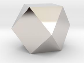 Cube Octahedron (Vector Equilibrium) in Platinum