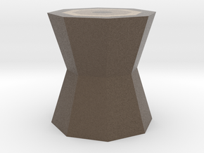 Low-Poly Trunk in Full Color Sandstone