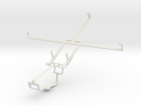 Controller mount for Xbox One & Acer Iconia Tab B1 in White Natural Versatile Plastic