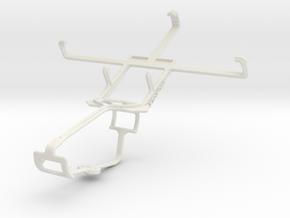 Controller mount for Xbox One & Acer Liquid E2 in White Natural Versatile Plastic