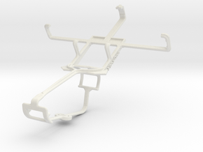Controller mount for Xbox One & Acer Liquid Glow E in White Natural Versatile Plastic