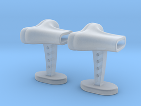 Boots cufflinks in Smooth Fine Detail Plastic