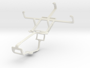 Controller mount for Xbox One & Acer Liquid Z2 in White Natural Versatile Plastic