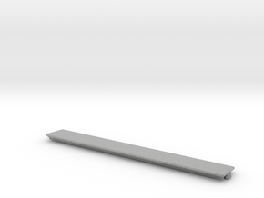 Expansion Slot Cover compatible to Amiga 1000 in Metallic Plastic