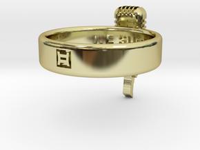 We Suck Ring 21mm in 18k Gold