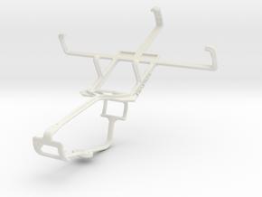 Controller mount for Xbox One & Alcatel OT-988 Sho in White Natural Versatile Plastic