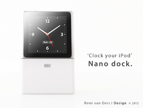 Nano dock - Dock your iPod Nano in White Processed Versatile Plastic