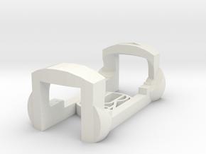 plastic clip for garmin foot pod SDM4 in White Natural Versatile Plastic