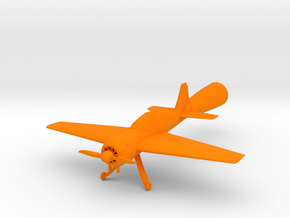 Yak 54 Mini in Orange Processed Versatile Plastic