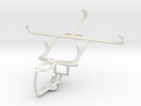 Controller mount for PS3 & BlackBerry Z10 in White Natural Versatile Plastic