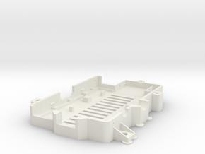 More-secure-raspi-case-bottom in White Natural Versatile Plastic