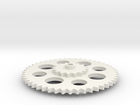 Gear1 2015 23 57 Gear1 in White Natural Versatile Plastic