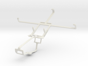 Controller mount for Xbox One & BLU Life View in White Natural Versatile Plastic
