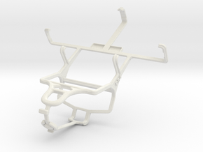 Controller mount for PS4 & Cat B15 in White Natural Versatile Plastic
