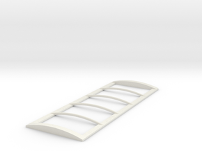 1/64 22' Tarp frame in White Natural Versatile Plastic