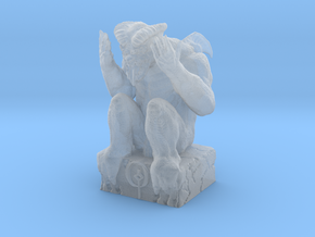 Grim Statuette  in Smooth Fine Detail Plastic