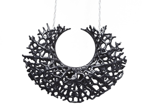 Vessel Pendant in Black Strong & Flexible