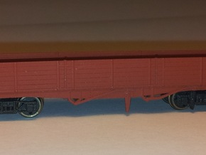 LNER Brick Wagon Kit in Smooth Fine Detail Plastic