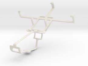 Controller mount for Xbox One & Gigabyte GSmart Tu in White Natural Versatile Plastic